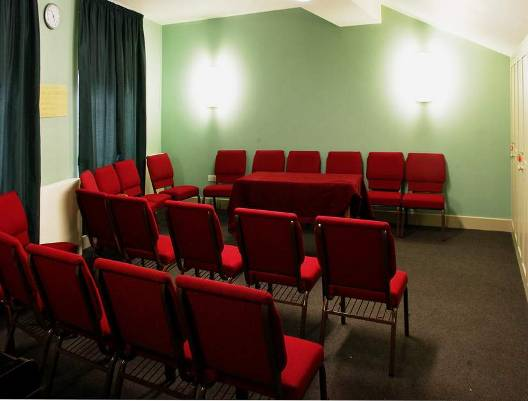 The Aldersgate Room with chairs