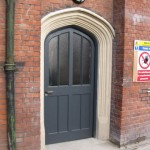 The new back door