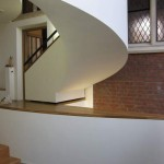 View of the staircase from the hall