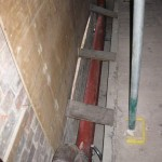 Diverted heating pipe